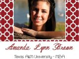 Texas A&m Graduation Party Invitations Pin by Lauren southard On southern Arrow Designs Pinterest