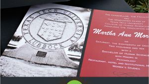 Texas Tech Graduation Invitations Texas Tech Graduation Invitations Martha Moretich