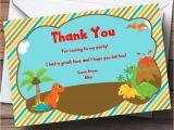 Thank You for Birthday Party Invitation 17 Dinosaur Birthday Invitations How to Sample Templates