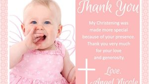 Thank You Message for Baptism Invitation Baptism Thank You Messages Easyday