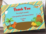Thank You Party Invitation Template 17 Dinosaur Birthday Invitations How to Sample Templates