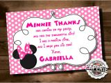 Thank You Party Invitation Template 23 Awesome Minnie Mouse Invitation Templates Psd Ai