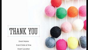 Thank You Party Invitation Template Free Thank You Party Customizable Invitation Card Templates