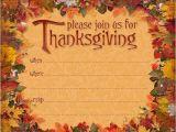 Thanksgiving Party Invitation Message Thanksgiving Invitations 365greetings Com