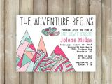 The Adventure Begins Baby Shower Invitations the Adventure Begins Baby Shower by Favoritethingsdesign