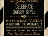 The Great Gatsby Party Invitation Printable Great Gatsby Invitation