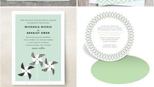 The Mint Wedding Invitations Wedding Invitation Color Trend Mint Green Invitation Crush