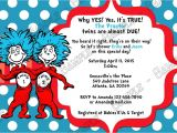 Thing 1 and Thing 2 Baby Shower Invitation Template Novel Concept Designs Dr Seuss Thing 1 and Thing 2