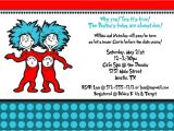 Thing 1 and Thing 2 Baby Shower Invitation Template the Best themes for A Twin Baby Shower Baby Ideas