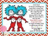 Thing 1 and Thing 2 Baby Shower Invitation Template Thing 1 Thing 2 Baby Shower Invite for Twins by