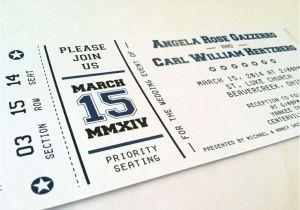 Ticket Stub Wedding Invitations 1000 Images About Invites Ideas On Pinterest theater