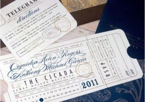 Ticket Stub Wedding Invitations 30 Best Images About Michelle Wedding Stationary On
