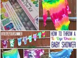 Tie Dye Baby Shower Invitations Summer Baby Shower with Tie Dye Esies Juggling Act Mama