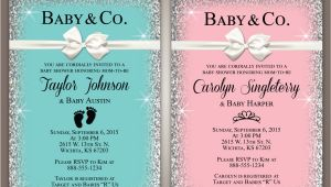 Tiffany and Co Baby Shower Invitations Baby & Co Baby Shower Invitation Breakfast and Tiffanys 5×7