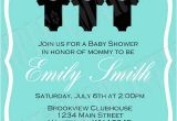 Tiffany Blue Baby Shower Invites Personalized Invitations