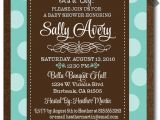 Tiffany Blue Baby Shower Invites Tiffany Blue and Chocolate Brown Baby Shower Invitations