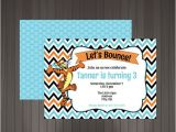 Tigger 1st Birthday Invitations Pinterest Discover and Save Creative Ideas
