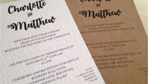 Titles for Wedding Invitations Bride and Grooms Names Wedding Invitations Stationery