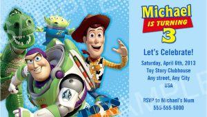 Toy Story Birthday Invitation Template toy Story Invitation Printable toy Story Birthday