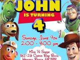 Toy Story Photo Birthday Party Invitations toy Story Birthday Invitation On Etsy $10 00