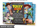 Toy Story Photo Birthday Party Invitations toy Story Invitation toy Story Invite Disney Pixar toy Story