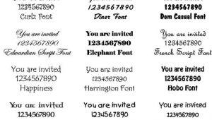 Traditional Wedding Invitation Font Wedding Invitation Font Vintage Wedding