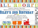 Train Birthday Invitation Template 9 Train Birthday Invitations for Kid Free Printable
