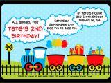 Train Birthday Invitation Template Fun Train Birthday Invitation by Cohenlane On Etsy