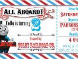 Train Birthday Invitation Template Thomas the Train Ticket Party Invitation by Rawkonversations