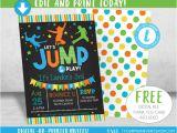 Trampoline Birthday Party Invitation Template 14 Boy Birthday Invitation Designs Templates Psd Ai