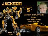 Transformer Birthday Invitations Printable Free Free Printable Transformers Bumble Bee Birthday Party