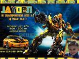 Transformer Party Invitations Transformers Birthday Invitations Ideas Bagvania Free