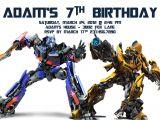 Transformers Birthday Invitation Template Transformer Birthday Invitations Free Printable Birthday