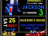 Transformers Birthday Party Invitations Template Birthday Party Invitations Wonderful Transformer Birthday