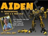 Transformers Birthday Party Invitations Template Transformers Birthday Invitations Template