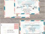 Travel themed Wedding Shower Invitations 11 Travel themed Wedding Invitations Knotsvilla