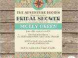 Travel themed Wedding Shower Invitations 5×7 Travel themed Bridal Shower Invitation by