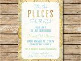 Travel themed Wedding Shower Invitations Baby Shower Invitation Travel themed Shower Invite Baby Oh