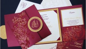 Tri Fold Wedding Invitations with Pocket Square Tri Fold Pocket Wedding Invitation