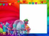 Trolls Party Invitation Template Free Printable Trolls Invitation Template Dolanpedia