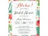 Tropical Bridal Shower Invitations Templates Lovely Bridal Shower Invitations Hawaiian Ideas