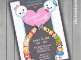 Tsum Tsum Party Invitations Tsum Tsum Baby Shower Invitations Tsum Tsum Party Tsum Tsum