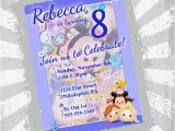 Tsum Tsum Party Invitations Tsum Tsum Birthday Invitation Tsum Tsum Party Tsum by
