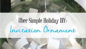 Turn Wedding Invitation Into ornament How to Turn A Wedding Invitation Into An ornament A