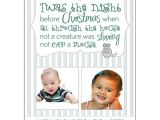 Twas the Night before Christmas Party Invitation Twas the Night before Christmas Photo Cards Paperstyle
