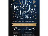 Twinkle Twinkle Little Star Baby Shower Invitation Wording Twinkle Twinkle Little Star Baby Shower Invitation