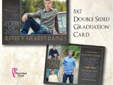 Two Sided Graduation Party Invitations 8 Best Graduation Announcements Images On Pinterest