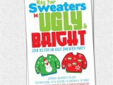 Ugly Holiday Sweater Party Invitation Template Free Ugly Sweater Party Invitation Tacky Holiday Christmas