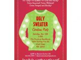 "Ugly Sweater Party Invites Wording Ugly Sweater Holiday Party Invitation 5"" X 7"" Invitation"