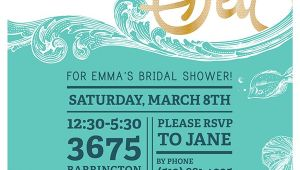 "Under the Sea Bridal Shower Invitations ""under the Sea"" Bridal Shower Invites On Behance"